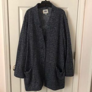 Cozy Navy Lightweight Coat
